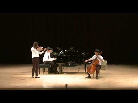 09. Brahms - Hungarian Dance No.1(Piano 4 hands with violin and cello)