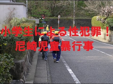 【閲覧注意】小学生による性犯罪!尼崎児童暴行事件!日本の教育現場の実態