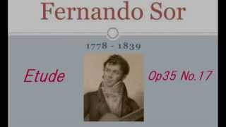 A.Segovia Etudes N0.6 ソルの練習曲作品35-17 19th century guitar 19...