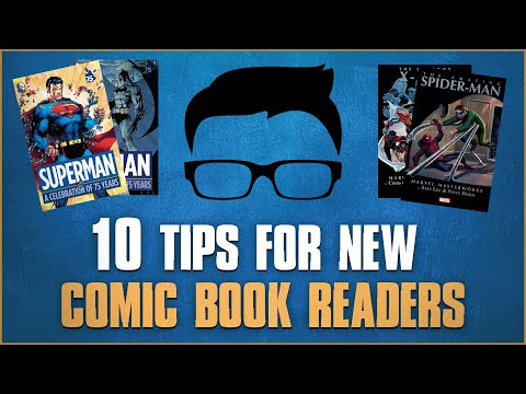 10 Tips For New Comic Readers