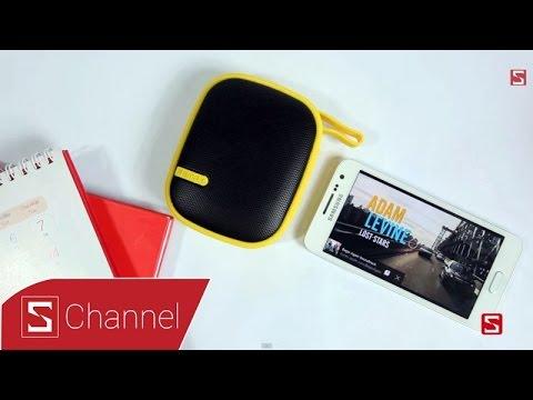 Schannel - Mở hộp loa Remax Music Box X2 : Thiết kế nổi bật, chống bụi và chống sốc