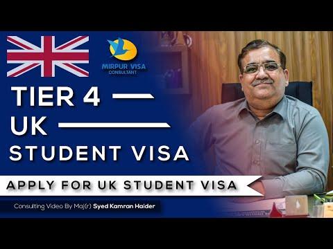 UK Student Visa - Tier 4