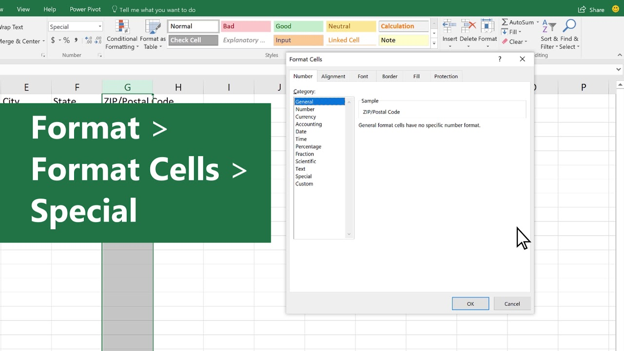 Address List | Holiday Tips Manage Your Address List In Excel Youtube