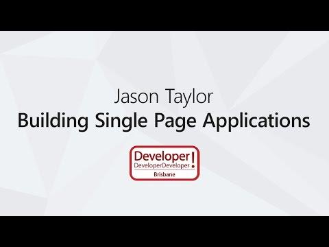 Building Single Page Applications with ASP.NET Core 2 | Jason Taylor @ DDD Brisbane 2017