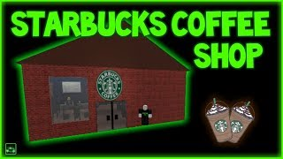 Roblox Script Showcase Episode#777/Starbucks Coffee Shop