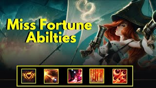 Miss Fortune Abilities - League of Legends Champion Spotlight