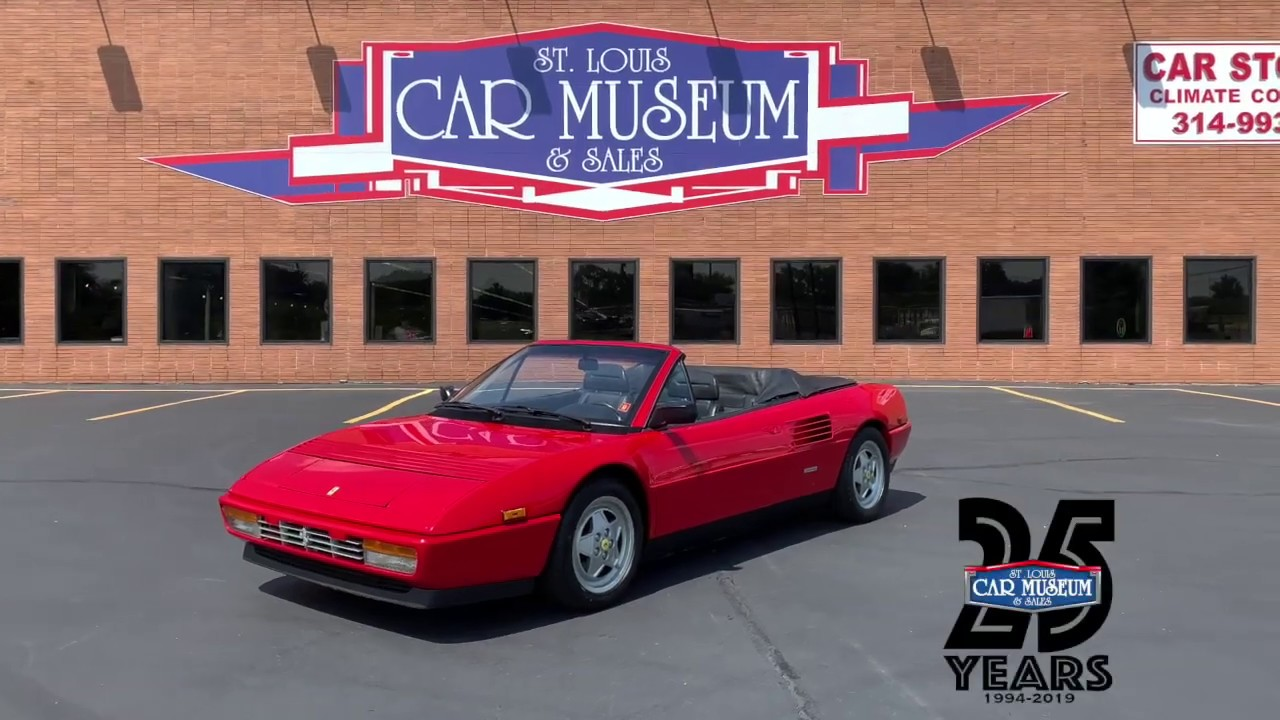 1989 Ferrari Mondial T Convertible Sold At St Louis Car Museum Sales Youtube