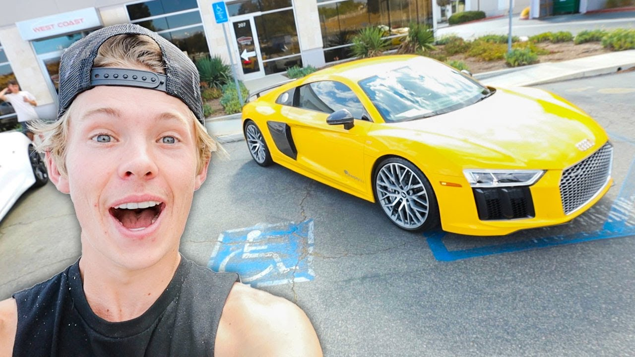 Download I Found My New SuperCar! (1200HP Twin Turbo R8)