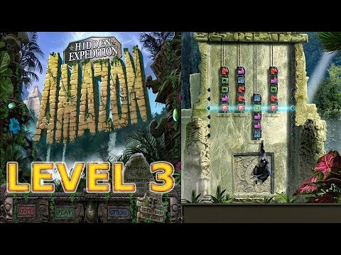 Big Fish Games: Hidden Expedition: Amazon (2008) - Level 3 - Monkey Puzzle (HD 1080p)