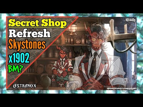 EPIC SEVEN Secret Shop Refresh [1902 Skystones] for Covenant Bookmarks & Gear! Epic 7 (Guide & Tips)