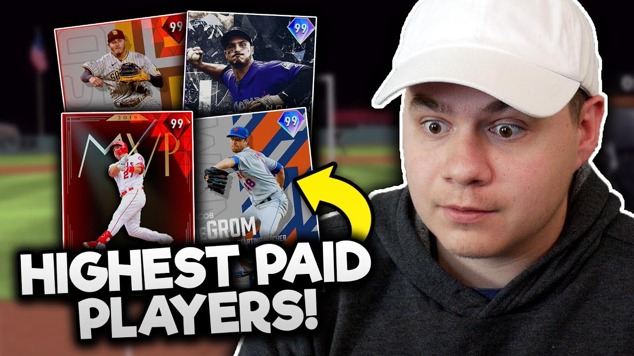 these are the HIGHEST PAID mlb players in 2021.. (MLB The Show 20)