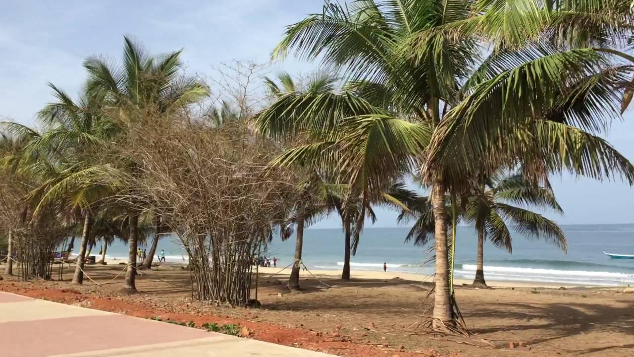 Beach Drive On Lumley Freetown Sierra Leone