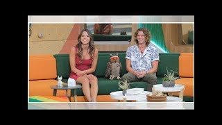 'Big Brother' Stars Tyler Crispen & Angela Rummans Enjoy Some PDA During Their Beach Day