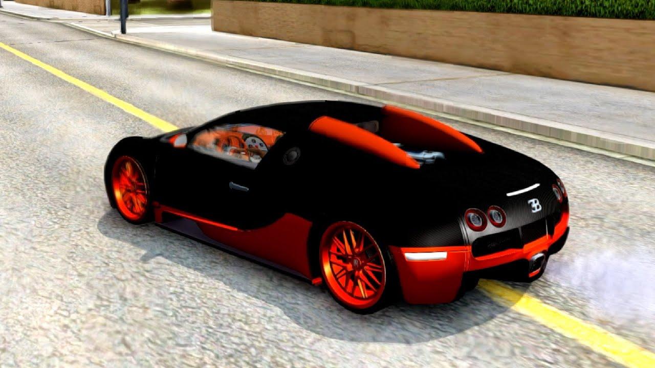 Merveilleux GTA San Andreas   Bugatti Veyron Super Sport