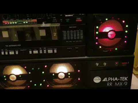 Boombox Alpha-Tek RR MX-9 Discolite