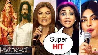 Padmavati Movie Review By Bollywood Celebs -Ranveer Singh,Deepika Padukone,Shahid