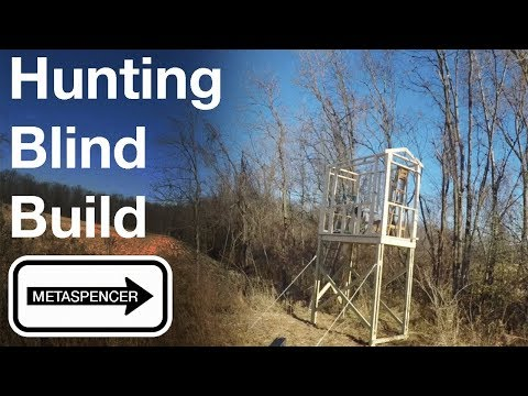 Tower Hunting Blind Step-By-Step Build, Part 1