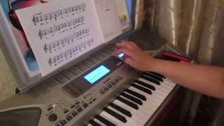 Обучение игре на фортепиано и синтезаторе для начинающих. Урок №3.