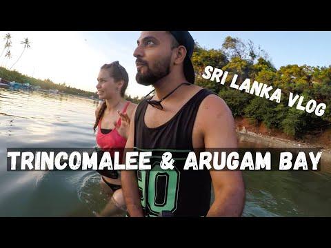 Trincomalee with Czech Girls- Sri Lanka Travel Vlog 9