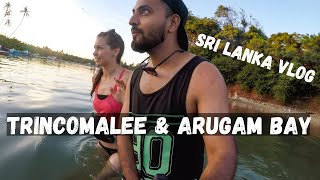 Trincomalee with Czech Girls- Indian in Sri Lanka  Travel Vlog 9
