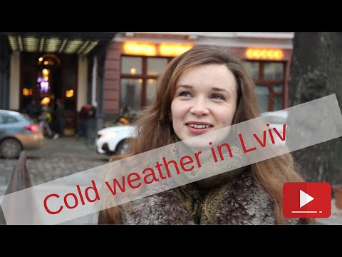 Cold Weather In Lviv, Ukraine: What Is It Like?