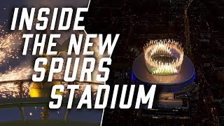 Inside the new Spurs Stadium | Crystal Palace in PL
