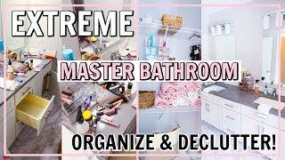 DREAM BATHROOM ORGANIZATION! | Alexandra Beuter