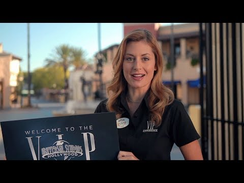 VIP Experience at Universal Studios Hollywood