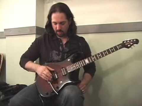 John Petrucci & The New Ernie Ball Music Man BFR Petrucci