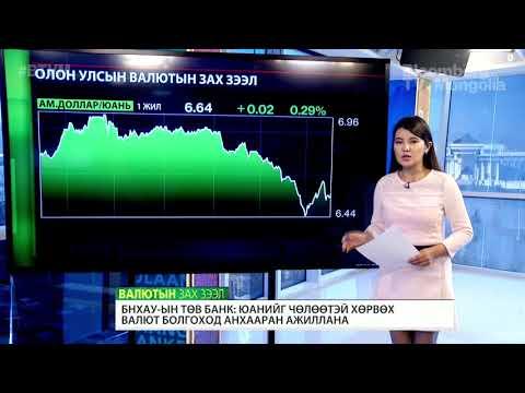 БНХАУ-ын Төв банк: Юанийг чөлөөтэй хөрвөх валют болгоход анхаарч ажиллана