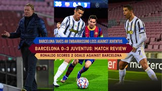 Barcelona finish 2nd in the group after being defeated by italian giants juventus. needed to tie or win against juventus 1st but fail...