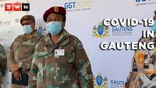 A delegation from the South African National Defence Force (SANDF) arrived at the Chris Hani Baragwanath Academic Hospital on 21 June 2021. Gauteng Premier David Makhura said the number of cases in the province was increasing, adding that the assistance from the military was much needed in the fight against COVID-19.