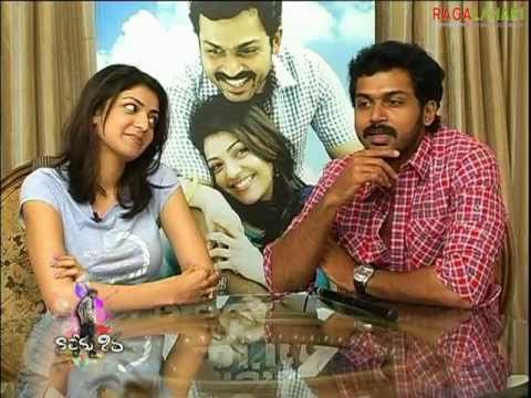 Karthi-Kajal's Interview on Naa Peru Shiva (Part 1)