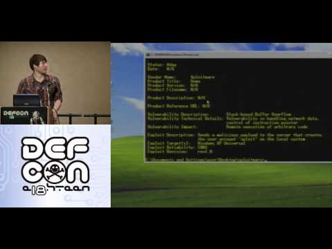 DEFCON 18: Exploiting SCADA Systems 2/2