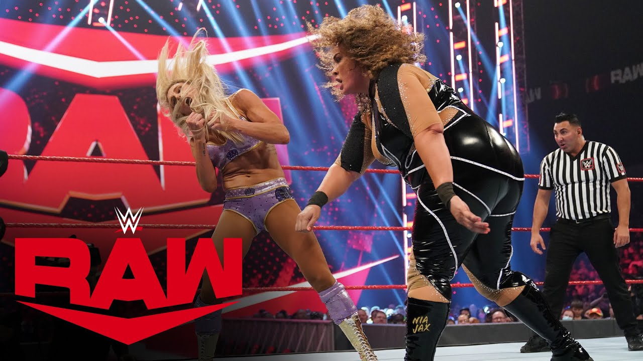 Charlotte Flair And Nia Jax Trend After Rough Match On WWE RAW