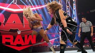 Charlotte Flair vs. Nia Jax: Raw, Aug. 30, 2021