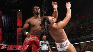 Kofi Kingston vs. Bo Dallas: Raw, June 2, 2014