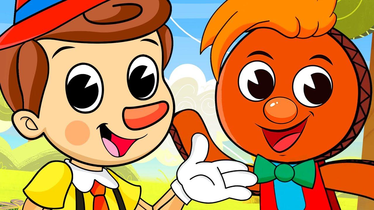 Download PINOCHO,  PIN PON, Sus Mejores Canciones infantiles