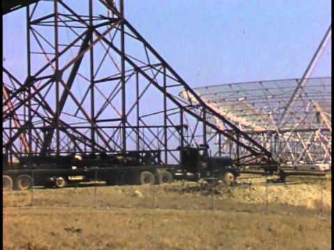 "Building of SRI International's ""Dish"" Radio Antenna Facility"