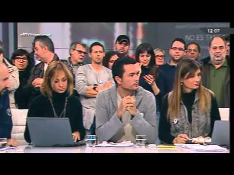 Última media hora de emisión de la Radio Televisión Pública Valenciana #RTVV antes del cierre