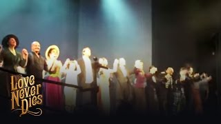 Love Never Dies final curtain calls at the Adelphi Theatre