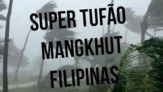 Tufão Mangkhut, categoria 5 atinge as Filipinas - 12/09/2018
