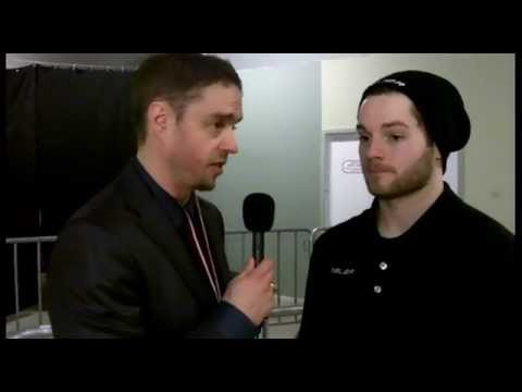 Murph Chats with Team GB Forward Robert Dowd after their game vs France (Feb 8/13)