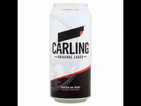 Download Carling lager 4% - carling brewing Co - beer reveiw