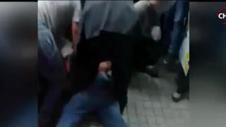Delincuente fue amarrado con cinturón en detención ciudadana - CHV Noticias