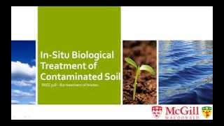 In-Situ Biological Treatment of Contaminated Soil