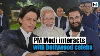 PM Modi asks SRK, Aamir, other Bollywood celebs to spread Bapu's message