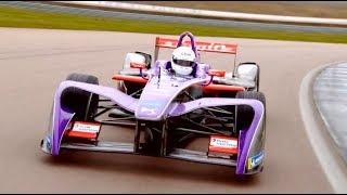 What s it like to drive a 140mph Formula E car Vernon Kay s Test Drive смотреть