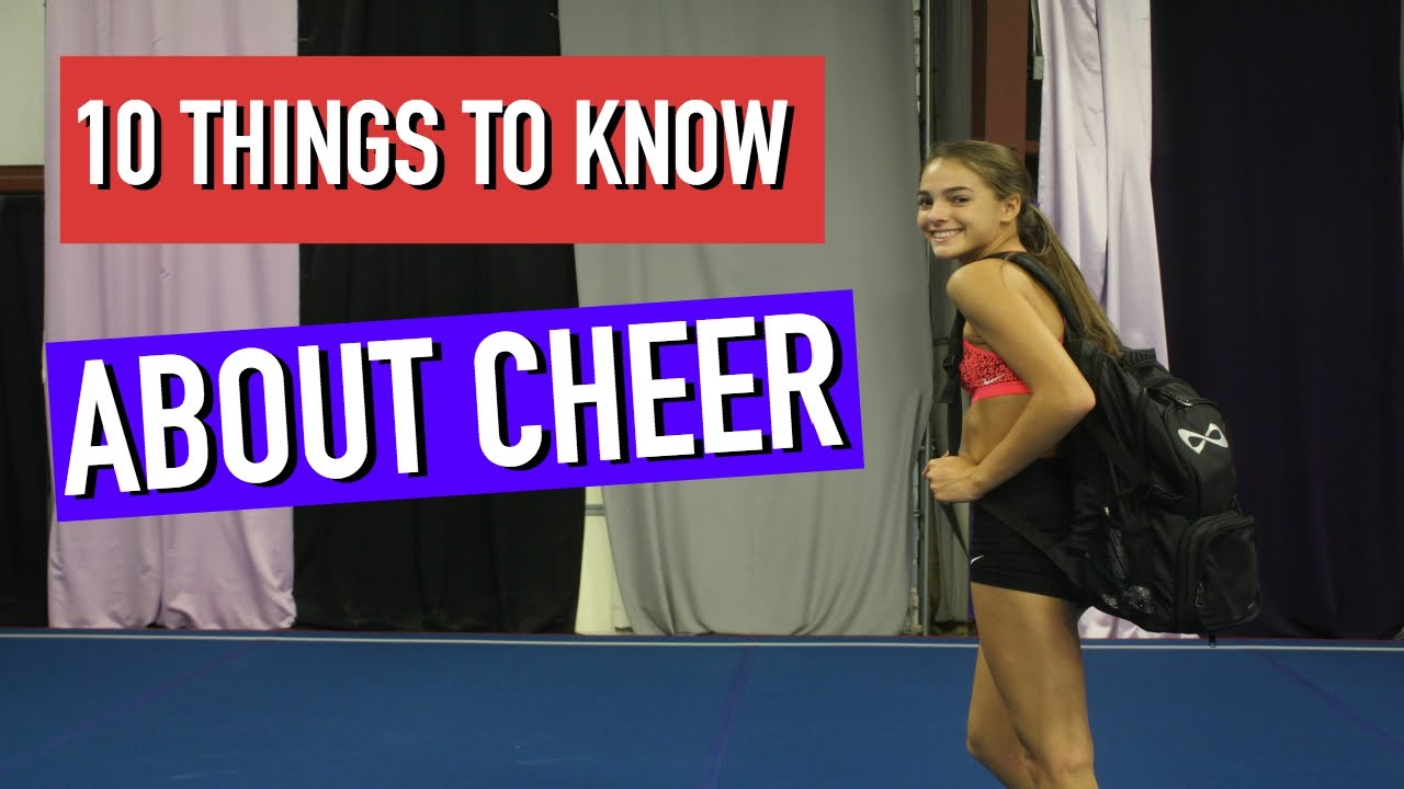 68f1df759f1 10 Things You Should Know before Joining Cheer - YouTube