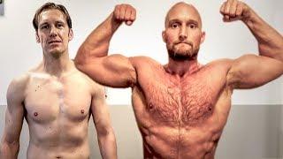 Die besten Muskelaufbau Lebensmittel! Workout mit Fabian